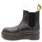 Ботинки Dr. Martens Chelsea Platform Fur Black 0