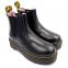 Ботинки Dr. Martens Chelsea Platform Fur Black 4