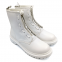 Ботинки Dr Martens 1460 Pascal Front Zip White 6