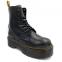 Ботинки Dr. Martens Jadon Zip Fur Black 3