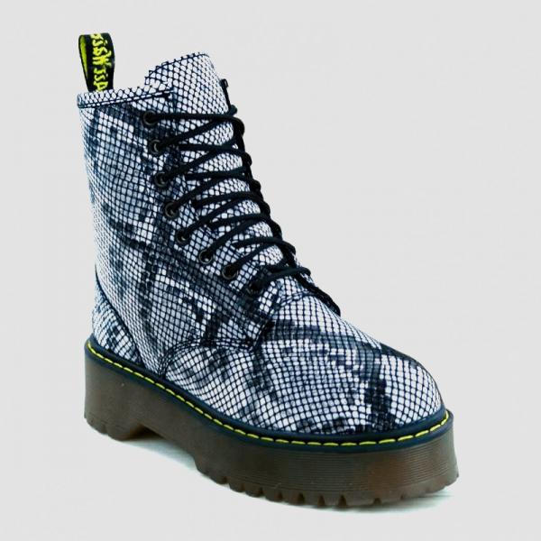 Ботинки Dr. Martens Jadon Snake Fur