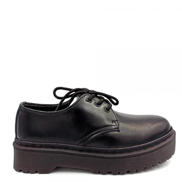 Ботинки Dr. Martens 1461 Platform Mono Black