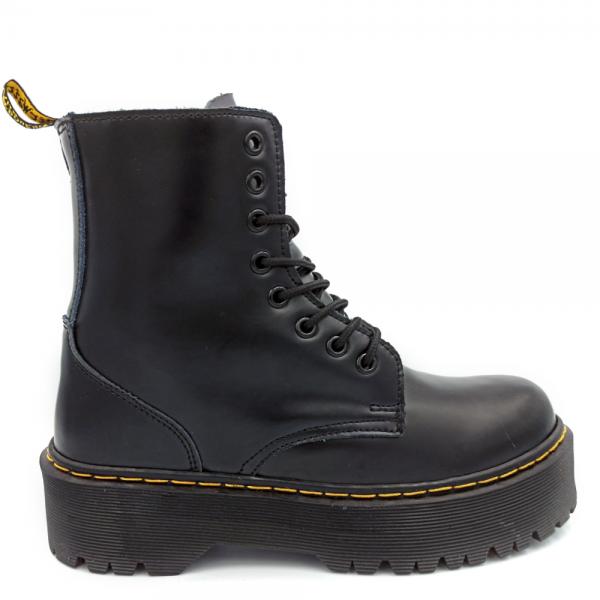 Ботинки Dr. Martens Jadon Zip Fur Black