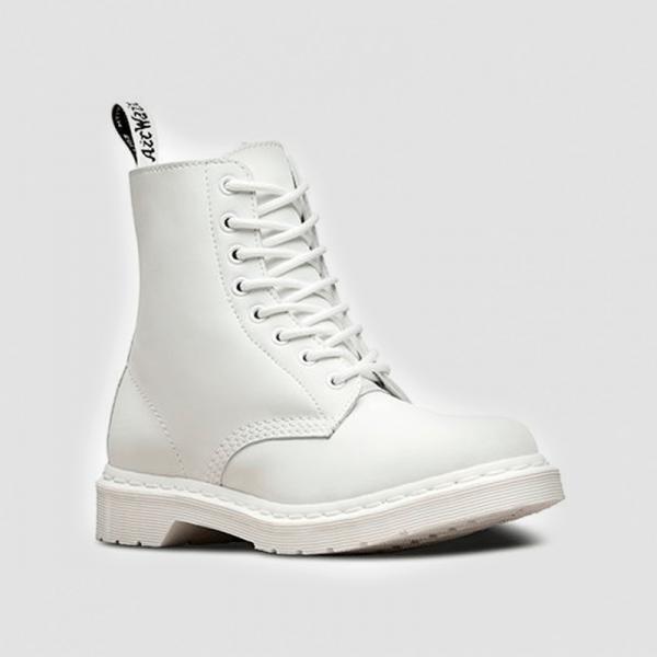 Ботинки Dr. Martens 1460 Mono Fur White