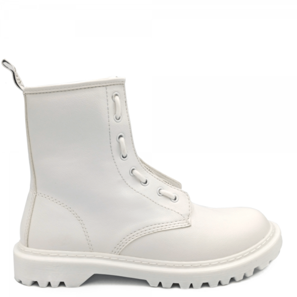 Ботинки Dr Martens 1460 Pascal Front Zip White