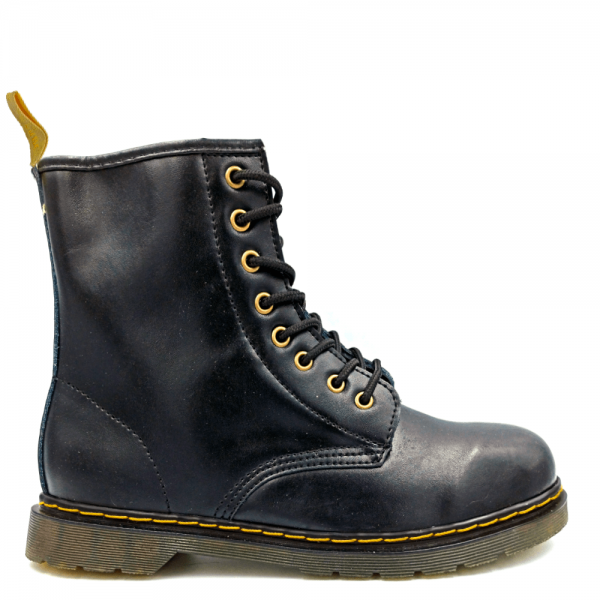 Ботинки Dr. Martens 1460 Fur Black Yellow