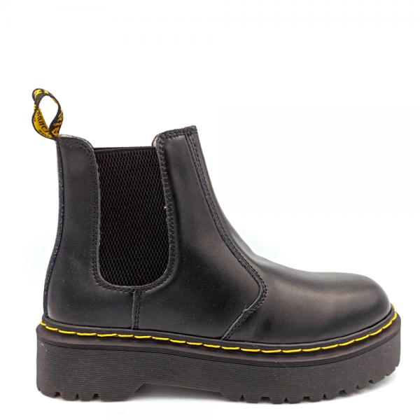 Ботинки Dr. Martens Chelsea Platform Black