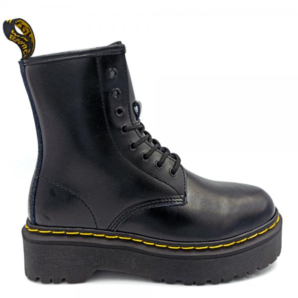 Ботинки Dr. Martens Jadon Fur Black