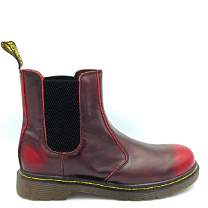 Dr. Martens Chelsea Red
