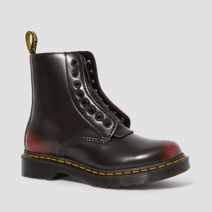 Dr Martens 1460 Pascal Front Zip Red
