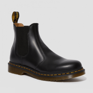 Dr. Martens 2976 Chelsea Yellow Stitch Black