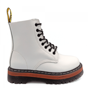 Dr. Martens Jadon White Brown