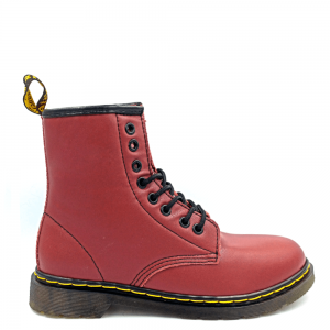 Dr. Martens 1460 Smooth Fur Bordo